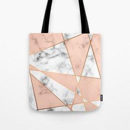 Marble Geometry 050 Tote Bag