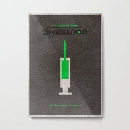 Re-Animator Metal Print