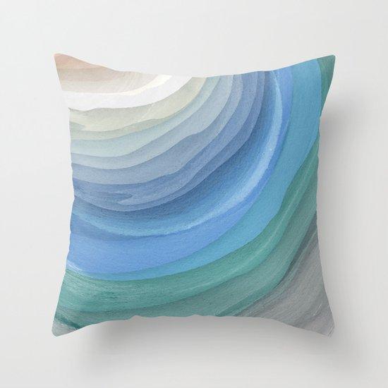 Topography Throw Pillow