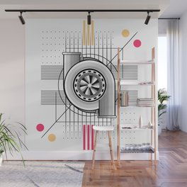 Turbo engine Wall Mural