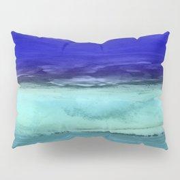Midnight Waves Seascape Pillow Sham