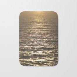 Sun ray on the sea Bath Mat
