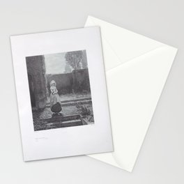 Marguerite coming out of the Church (Goëthe) ,1850–1914 Stationery Cards