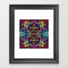 Internal Kaleidoscopic Daze- 17 Framed Art Print