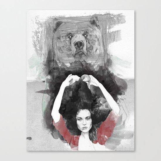Bear Delux Canvas Print