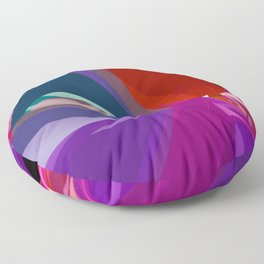 polynomial pattern -6- Floor Pillow