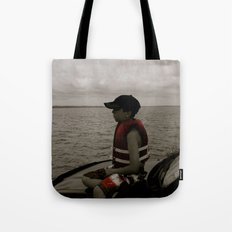 Aidan White Tote Bag