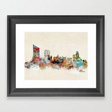 grand rapids michigan Framed Art Print