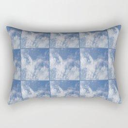 Cloud and sky VI -cloud, sky, blue, positive,optimism Rectangular Pillow
