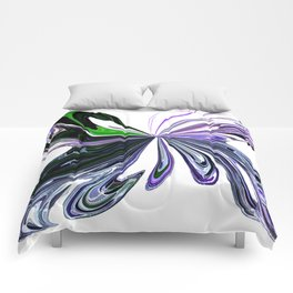 Butterfly Abstract Comforters