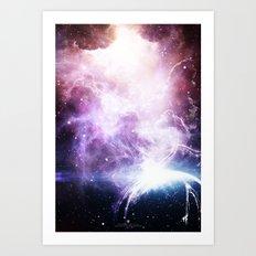 Space Cloudz Art Print