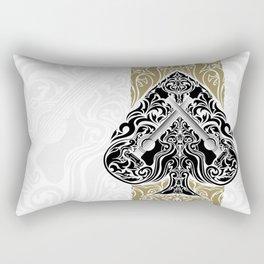 Resonate Bridge | Ace of Spades Rectangular Pillow