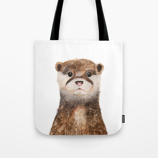 Little Otter Tote Bag