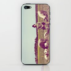 J Crist - Everything Stays Here and Now iPhone & iPod Skin