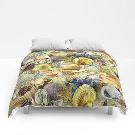 Seashells And Starfish Comforters