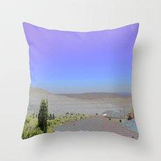 Chromascape 1: Cyprus Throw Pillow