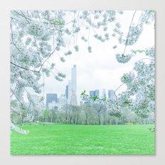 Springtime in New York City Canvas Print
