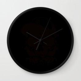 Bad Bones Crew Wall Clock
