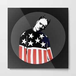 Keith Prodigy Black and Grey *All proceeds donated to charity* Metal Print