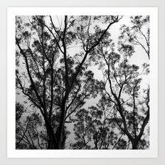 Nature into Me Art Print