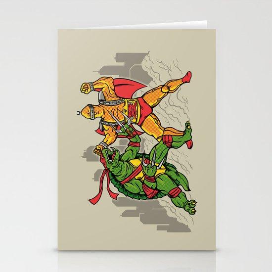 Teenage Mutant Gamera Ninja Stationery Cards