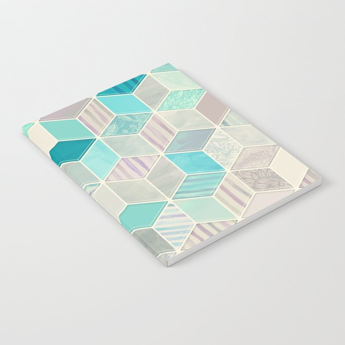 Vacation Patchwork Notebook