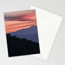 Misty Mountains, Boca De La Pesca. 1.518 Meters Stationery Cards