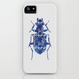 Blue Beetle II iPhone Case