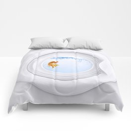 (Very) Clean Goldfish Comforters