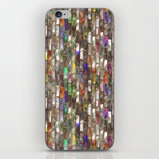 Rainbow Abalone Glass Tile Texture iPhone & iPod Skin
