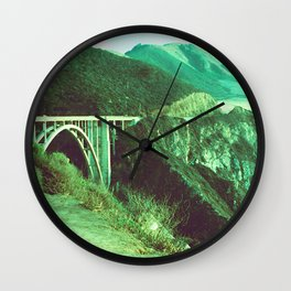 Big Sur II // California Wall Clock