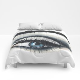 Shades of Blue Comforters
