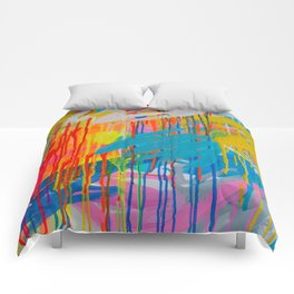 freedom of colours no.4 Comforters
