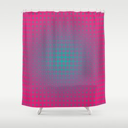 dotted fantasy Shower Curtain