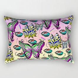 Spring Wings Rectangular Pillow
