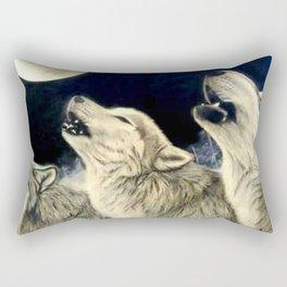 Wolf Pack Rectangular Pillow