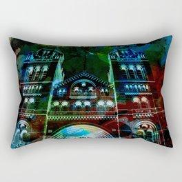 UK, England, London, Natural History Museum, the facade Rectangular Pillow