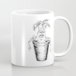 Potterhead Magical Mandrake Root Coffee Mug