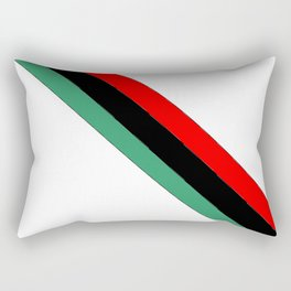 flag of libya 2-Libyan,Tripoli,benghazi,misurata,bayda,cyrenaica Rectangular Pillow