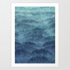 Eastern Hills Art Print
