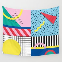 Memphis Party Wall Tapestry