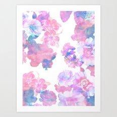 Le Fluer Pastel Art Print