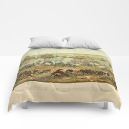 Civil War Battle of Gettysburg July 1-3 1863 by Paul Philippoteaux Comforters