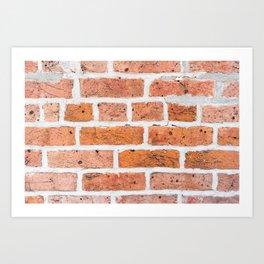 Brick Texture II Art Print