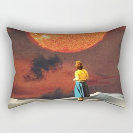 Your Heart Is The Sun Rectangular Pillow