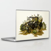 home sweet home Laptop & iPad Skins featuring Home Sweet Home by Teagan White