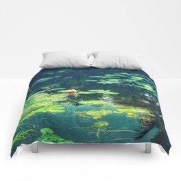 Lily Pond II Comforters