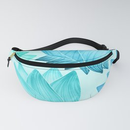 Lotus Love II / Zen Teal Palette Fanny Pack