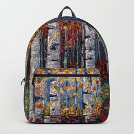 Aspen Fall by OLena Art  Backpack