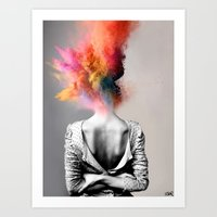 Art Prints featuring a certain kind of magic by LouiJoverArt